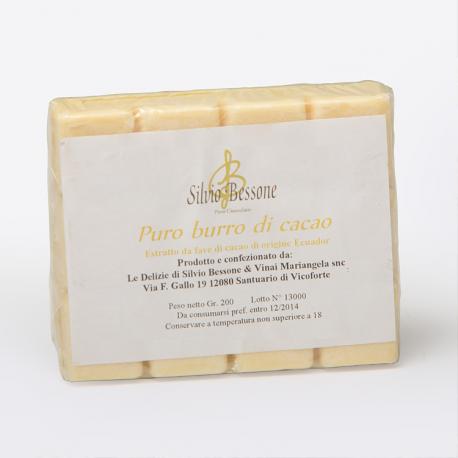 Burro di Cacao - Tavoletta 200 gr.