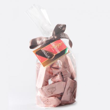 Gianduiotti rosa - Ripieno nocciola